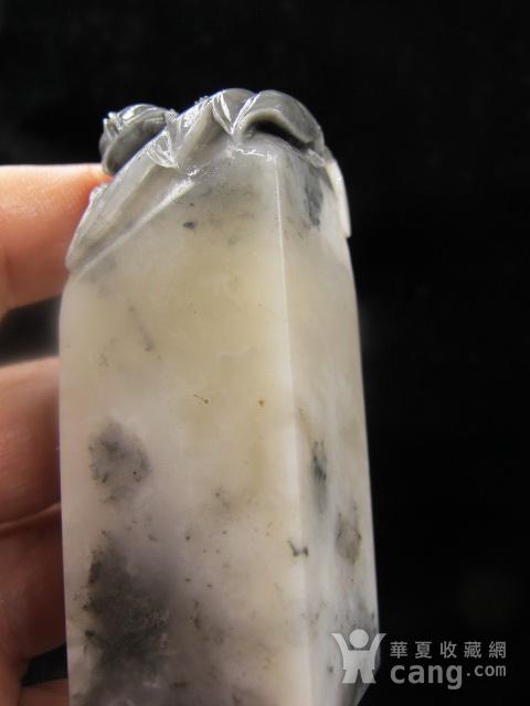 稀罕品种 寿山开门老矿巧色杜林冻石富甲天下大章图11