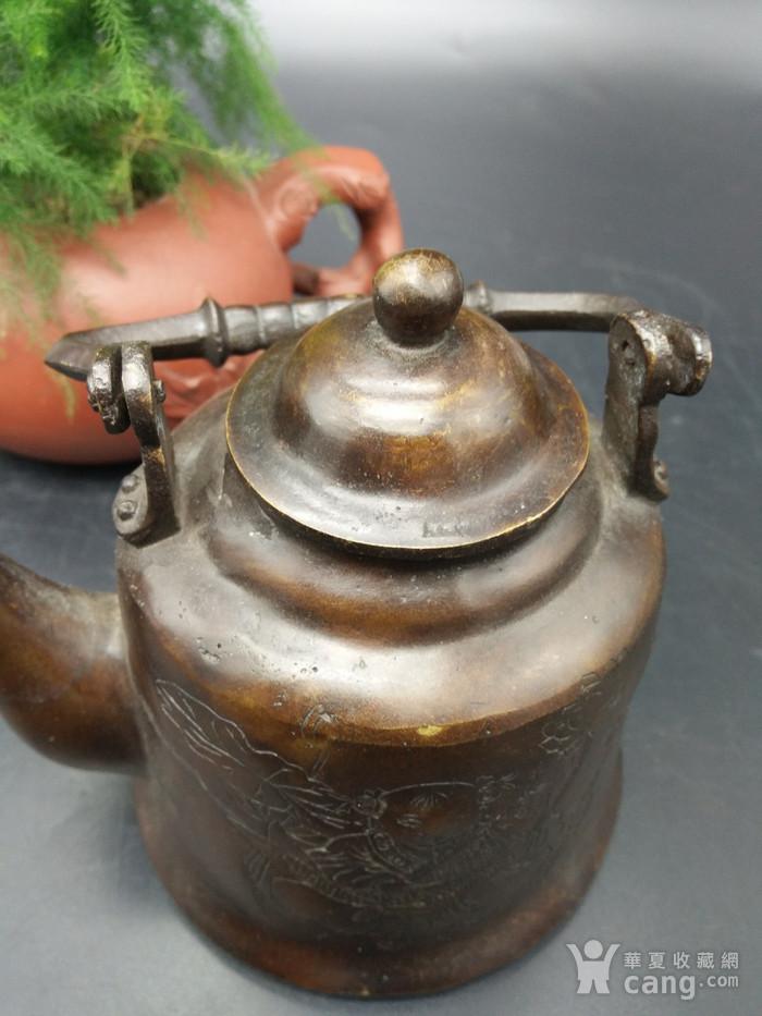 清代铜茶壶图6