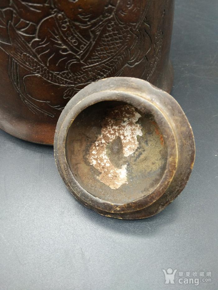清代铜茶壶图7