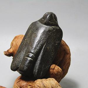 天外陨石圣石 狄枭 大挂件 包浆厚重