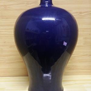 宝石蓝梅瓶