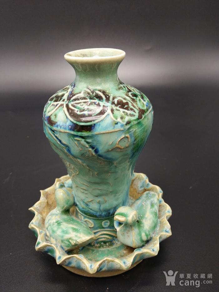 翡翠釉瓶图3