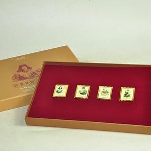 毛主席向雷锋同志学习发表五十周年纪念邮票珍藏两套