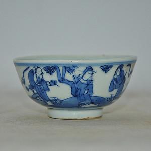 青花小瓷碗