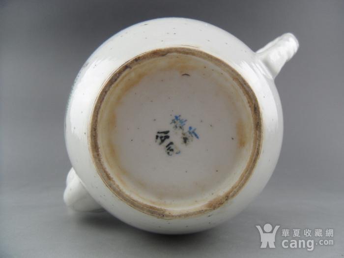 35.民国 醴陵窑浅降彩山水茶壶图10