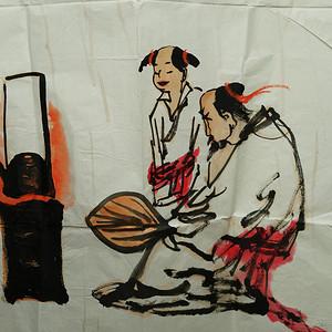 江苏画家程大利的8平尺大画