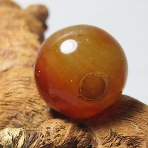 清 玛瑙大珠 包浆熟厚