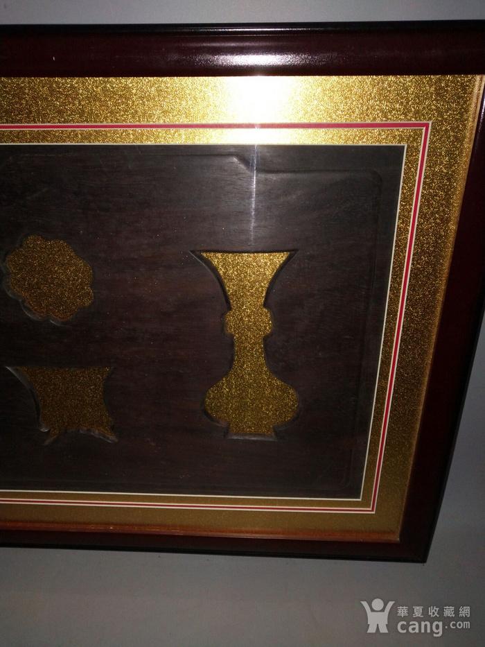 老红木板画图6