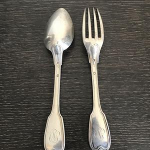 纯银餐具1