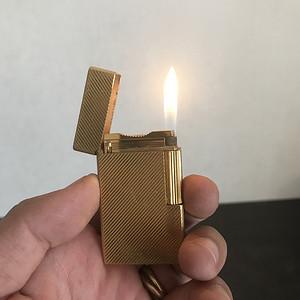 都彭鎏金打火机