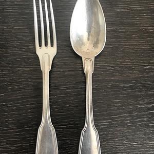 法国古董纯银餐具