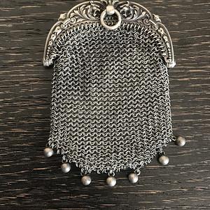 法国古董零钱袋