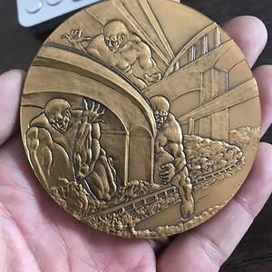 法国铜质奖章2