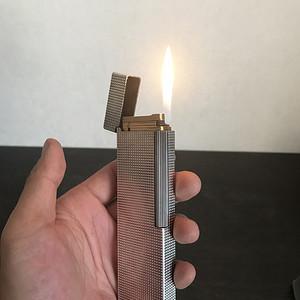 都彭纯银打火机 300克