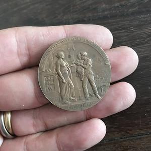 1900年纪念章