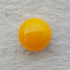 13.8克29mm鸡油黄蜜蜡大圆珠