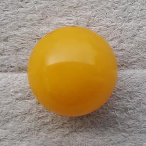 7.6克24mm鸡油黄蜜蜡大圆珠