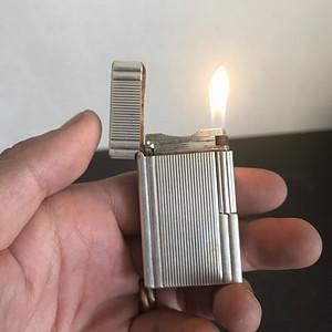 都彭鎏银打火机