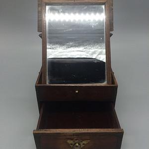 民国红木化妆盒