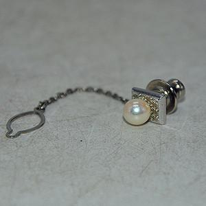 4.2克镶珍珠胸针