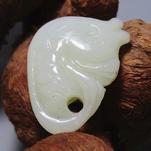和田玉 年年有余 手工雕刻 玉质熟润