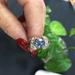 8091欧洲工艺嵌宝戒指