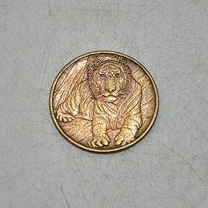 2010虎年纪念章