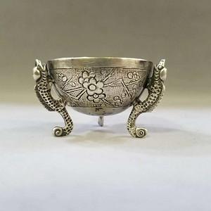 清末中国广东出口欧美的纯银小炉