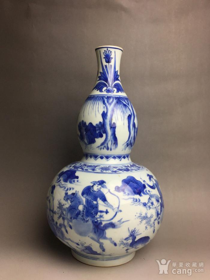 明崇祯葫芦瓶