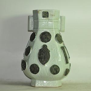 一善堂瓷瓶