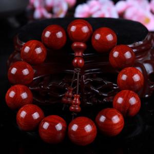 联盟 印度小叶紫檀鸡血红金星顺纹高密手感好易盘玩