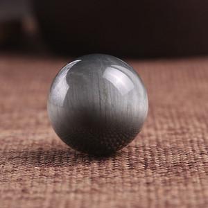 纯天然鹰眼石单珠20mm
