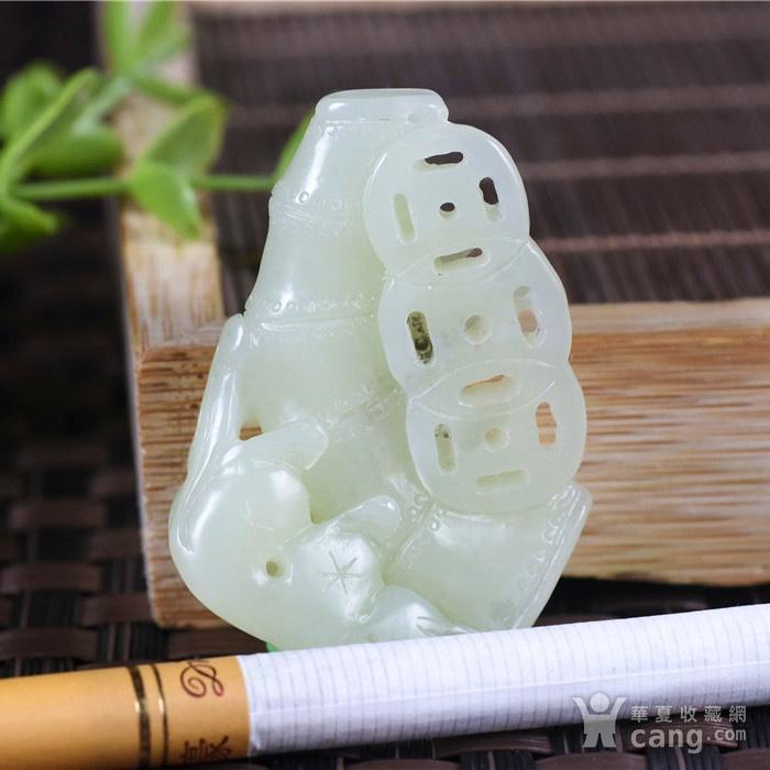 和田玉  且末 黄口料  美福竹  节节高升图5
