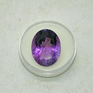 15.5克拉紫水晶戒面