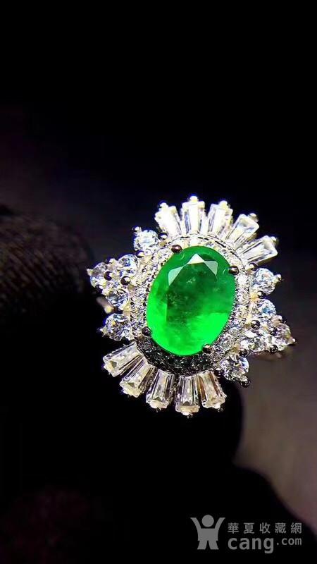 纯天然哥伦比亚祖母绿戒指图9
