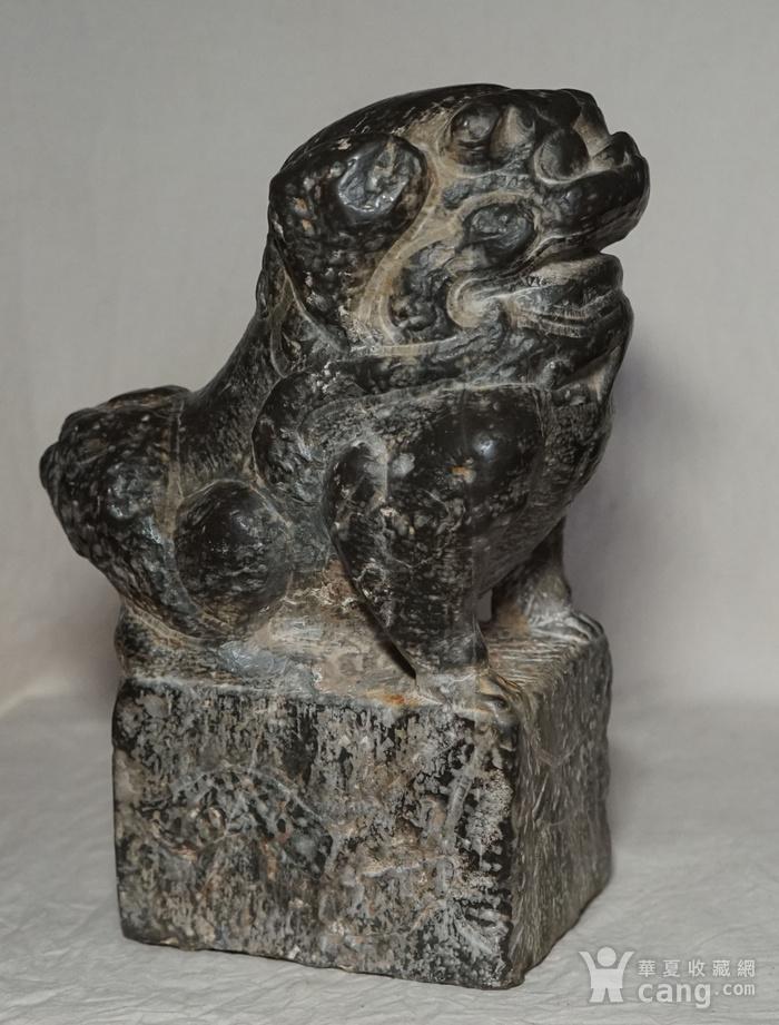 清代石狮子图2