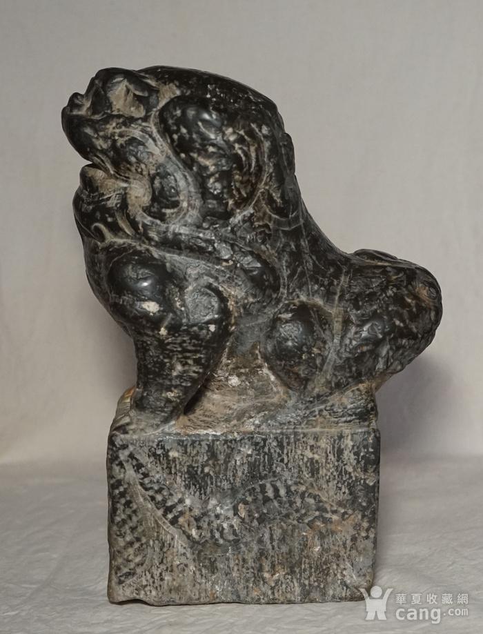 清代石狮子图4