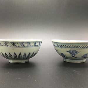 明中期海螺碗