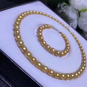 天然金珍珠套装假一赔万