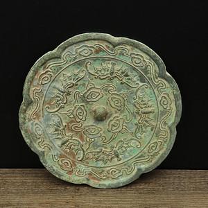 旧藏海兽葡萄纹唐镜