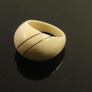 金牌 回流老首饰 材质饱满形戒指14K金丝装饰 男女佳可 大特价