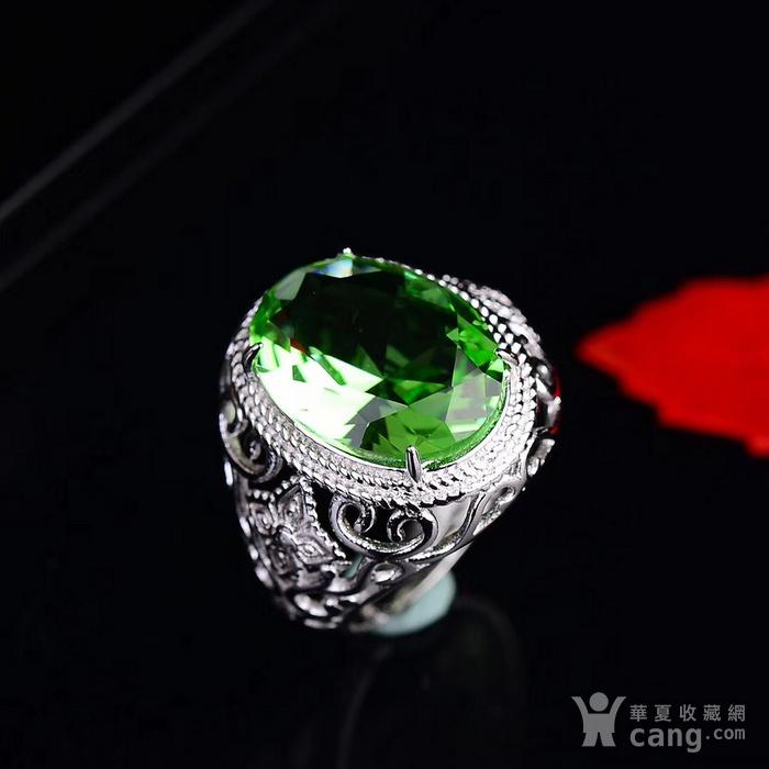 绿碧玺戒指图4