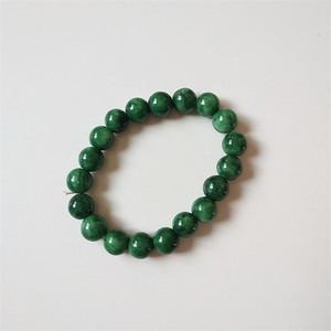 钻石  34 绿翡翠手链A货 0801 1