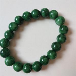 钻石  35 绿翡翠手链A货 0801 2