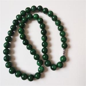钻石  36 绿翡翠项链A货 0802 1