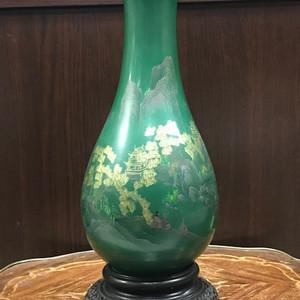 100124 建国初福州脱胎漆瓶