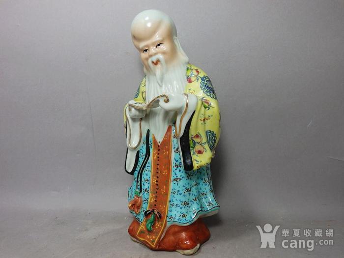 清代寿星寿比南山塑像图2