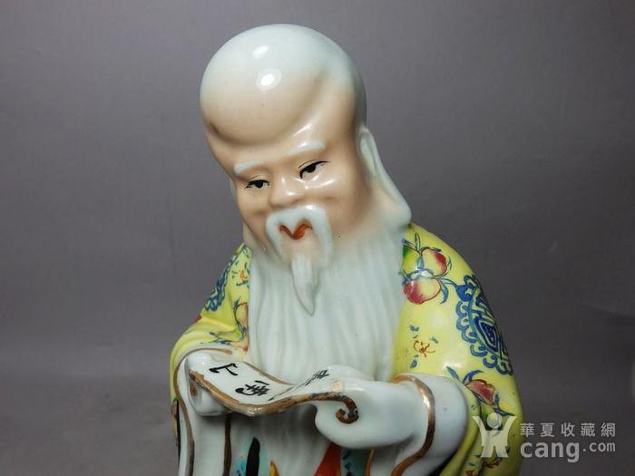 清代寿星寿比南山塑像图5
