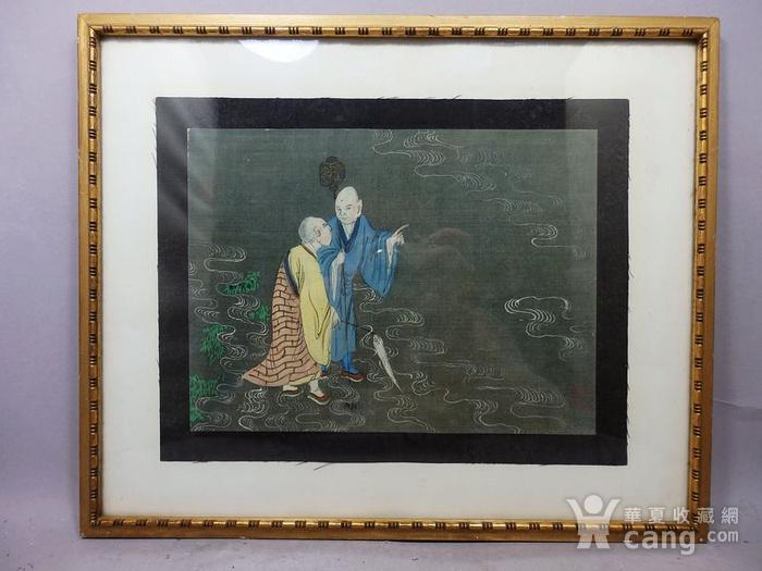 清代僧侣画图1