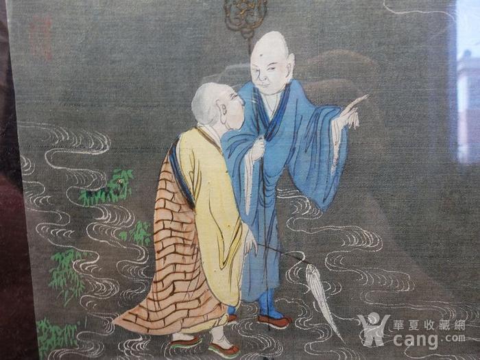 清代僧侣画图2
